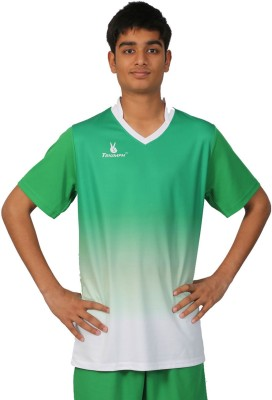 Triumph Printed Men's V-neck Green T-Shirt