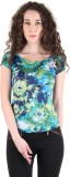 Chimera Printed Women's Round Neck Multi...