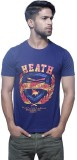 Fashnopolism Solid Men's Round Neck Blue...