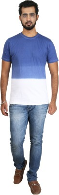 Pick Indiana Solid Men's Round Neck T-Shirt