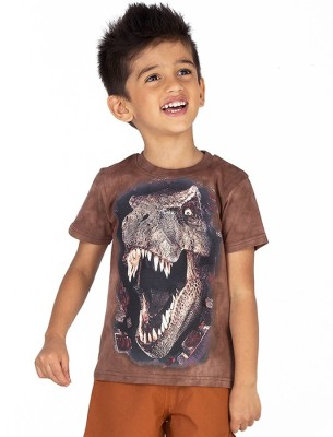 Ventra Graphic Print Boy's Round Neck Reversible T-Shirt