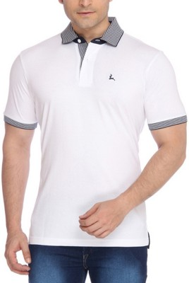 Parx Solid Men's Flap Collar Neck T-Shirt