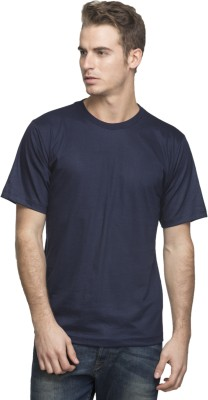 Lambency Solid Men's Round Neck T-Shirt