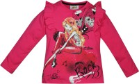 Winx Club Girls Printed T Shirt(Pink)