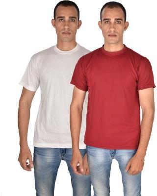 Venga Solid Men's Round Neck T-Shirt