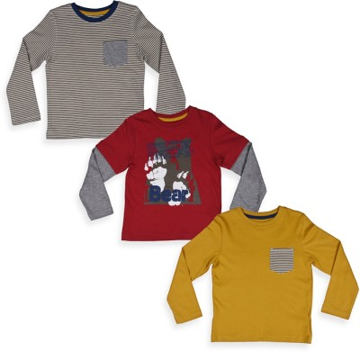Mothercare Solid Boy's Round Neck T-Shirt
