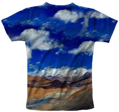 Myfizi Printed Men's Round Neck T-Shirt