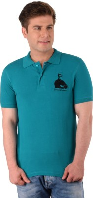 Vivekananda Youth Connect Printed Men's Round Neck Blue T-Shirt