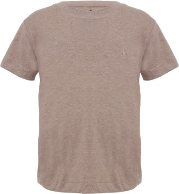 UFO Embroidered Boy's Round Neck T-Shirt