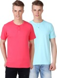 Aventura Outfitters Solid Men's Henley P...