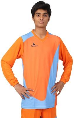 Triumph Printed Men's V-neck Orange T-Shirt