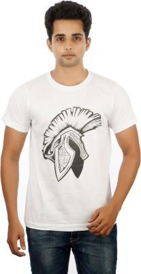 MannMohh Printed Men's Round Neck T-Shirt