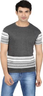 Minute Merge Printed Men's Round Neck Grey, White T-Shirt