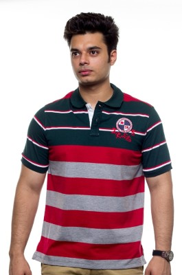 Unicott Striped Men's Polo Multicolor T-Shirt