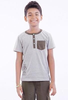 Milou Striped Boy's Polo T-Shirt