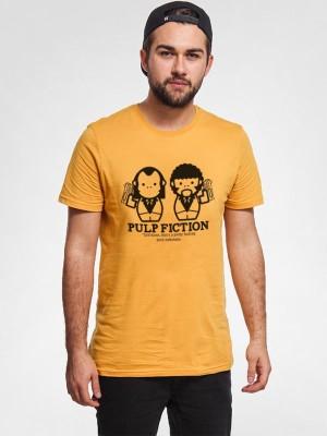 Jhingu Printed Men's Round Neck T-Shirt