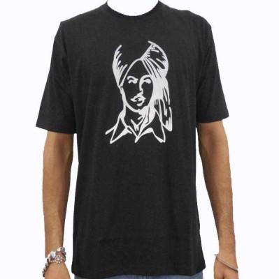 Chardikala Printed Men,s Round Neck T-Shirt
