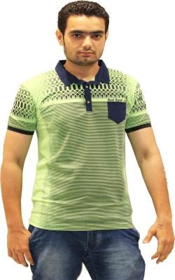 GOPAL EMPORIUM Solid Men's Polo Green T-Shirt