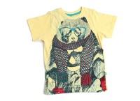 BonOrganik Boys Solid T Shirt(Yellow Pack of 1)
