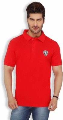 Live In Solid Men's Polo Red T-Shirt
