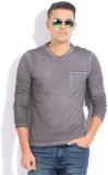 GAS Solid Men's Round Neck Grey T-Shirt