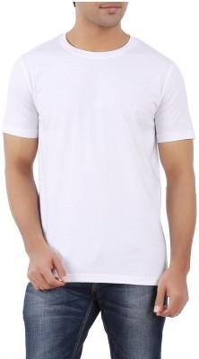 Moodlay Solid Men's Round Neck T-Shirt