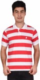 Crush on Craze Striped Men's Polo Neck R...