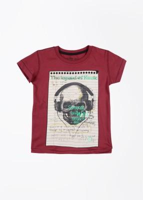 Status Quo Cubs Printed Boy's Round Neck T-Shirt