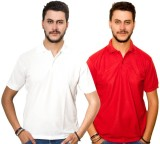 Dreamz Clothing Co Solid Men's Polo Neck...