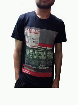 stopgrey Printed Men,s, Boy's Round Neck T-Shirt