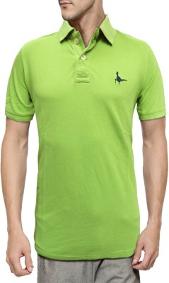 Jack Wills Solid Men's Polo Neck T-Shirt