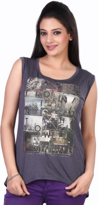 Fritzberg Printed Women's Round Neck T-Shirt