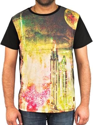 Uforix Graphic Print Men's Round Neck T-Shirt