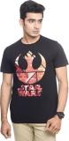 Star Wars Printed Men's Round Neck Black...