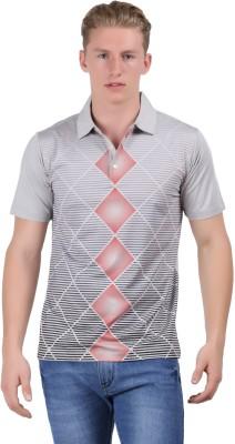 Euro Open Striped Men's Polo T-Shirt