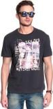 Gasser Graphic Print Men's Round Neck Bl...