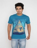 Wincraft Printed Men's Round Neck Blue T...