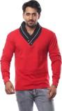 V3Squared Self Design Men's V-neck Multi...