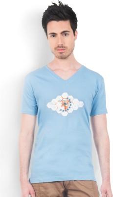 Do U Speak Green Printed Men's Round Neck T-Shirt