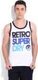 Superdry Printed Men's Round Neck White ...