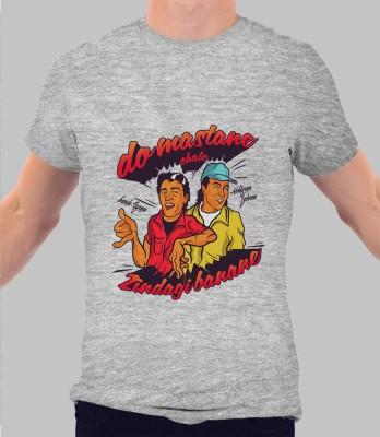 Merchbay Striped Men's Round Neck T-Shirt