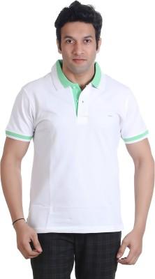 Adventure Solid Men's Polo Neck T-Shirt