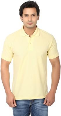 AWA Solid Men's Polo Neck T-Shirt