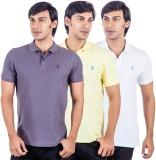 X-Tint Solid Men's Polo Neck Multicolor ...
