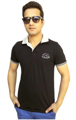 brandonn Solid Men's Polo Neck T-Shirt