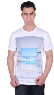 Numalo Printed Men's Round Neck T-Shirt
