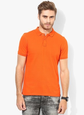 Friskers Solid Men's Polo T-Shirt