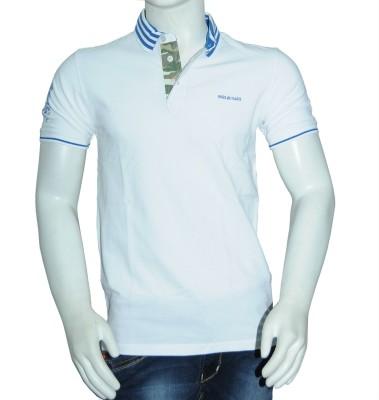 RR Solid Men's Polo Neck T-Shirt