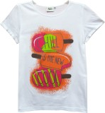 Abstract Mood Girls Printed (White)