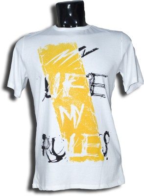 Auzi Graphic Print, Printed Men's Round Neck T-Shirt